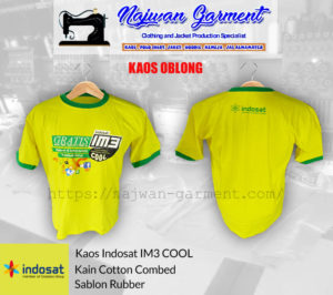 Vendor sablon kaos oblong