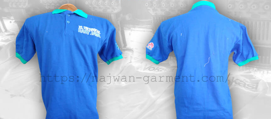Desain Kaos Poloshirt XL Technical East Java