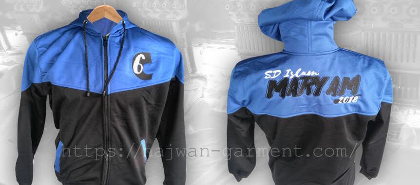 Desain Jaket SD Islam Maryam Surabaya