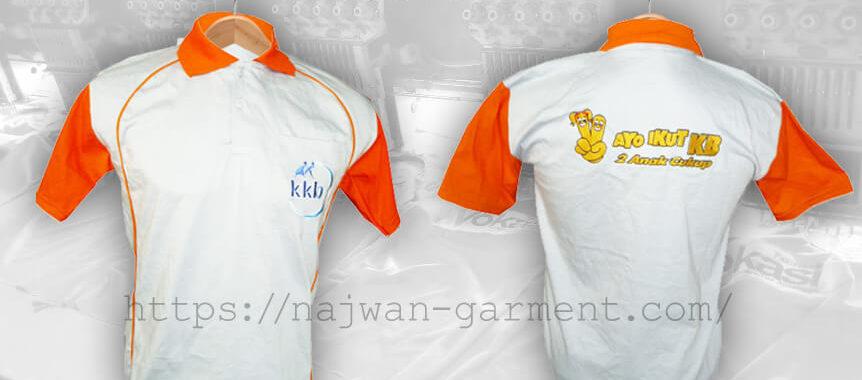 """Desain Kaos Poloshirt KKB """"Ayo Ikut KB"""""""