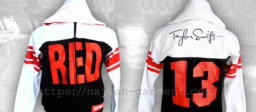 Desain Jaket Komunitas Taylor Swift