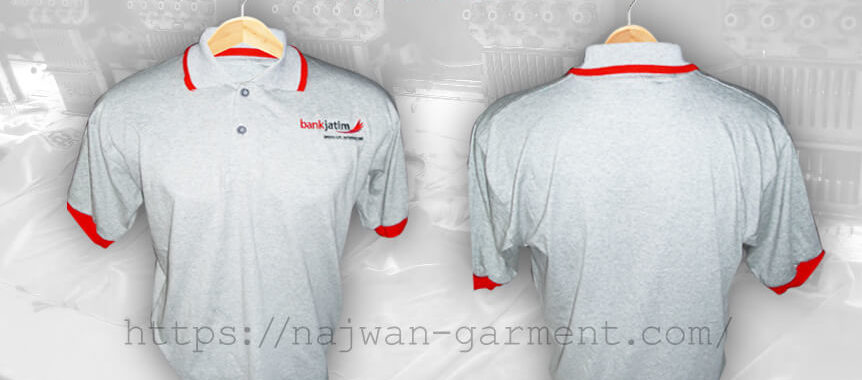 Desain Kaos Poloshirt Bank Jatim