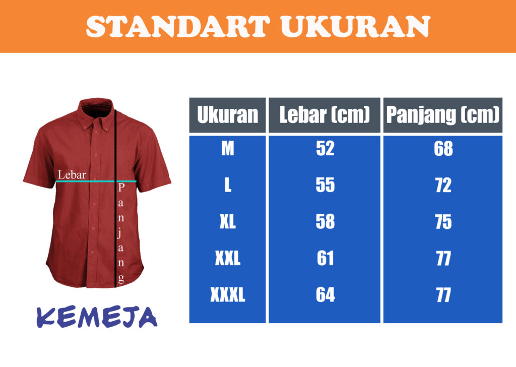 standart-ukuran-kemeja
